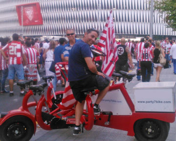 Party Bike Champions League Athletic-Napoli